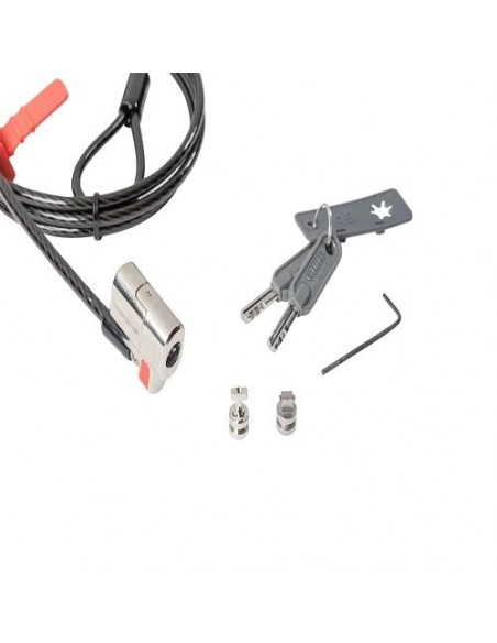 Zámok ClickSafe pre všetky bezpečnostné sloty spoločnosti Dell – Kensington™ a Noble™