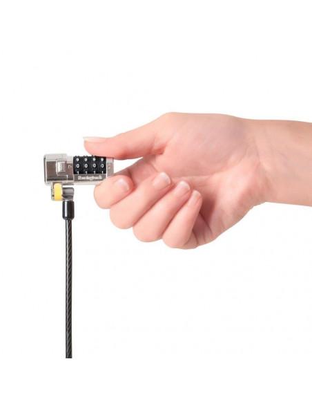 Kombinačný zámok ClickSafe pre všetky bezpečnostné sloty Dell Kensington a Noble