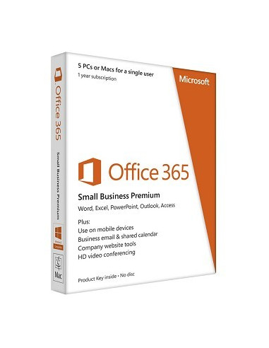 Microsoft Office 365 Small Business Premium Slovak na 1 Rok