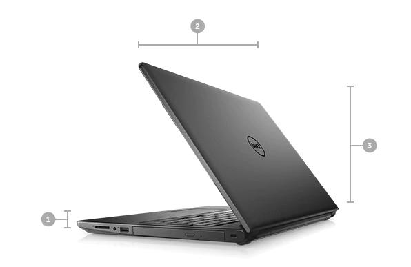 Rozmery a hmotnosť Dell Inspiron 3576