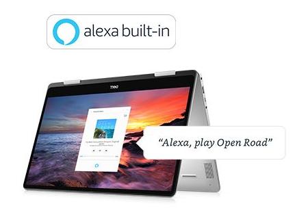 Amazon Alexa je zabudovaná v Inspirone 7586