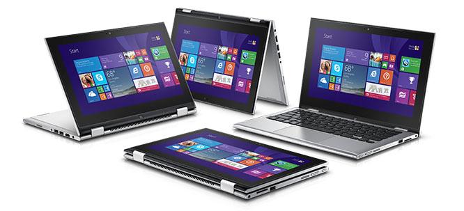 DELL Inspiron 13z konvertiilný notebook, tablet
