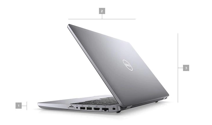 Rozmery notebooku Dell Latitude 15 model 2020