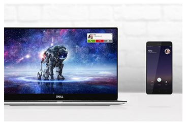 DELL mobile connect na XPS 7390